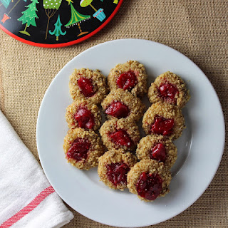 Cranberry Thumbprint Cookies