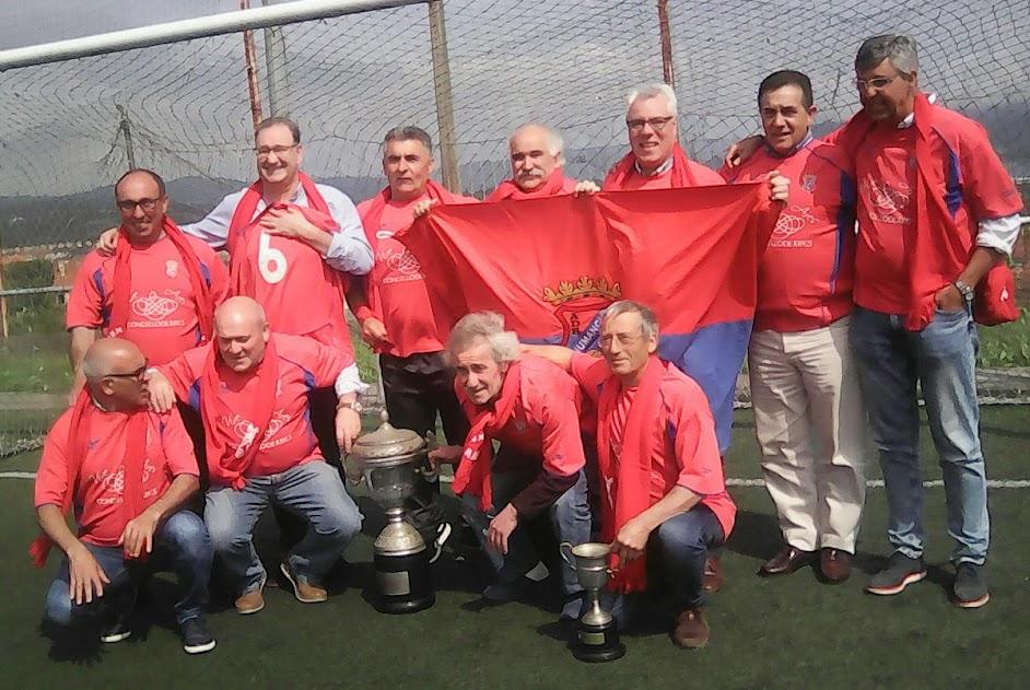 ADR Numancia de Ares. Campeones de Copa y Liga 82-83. 35 Aniversario