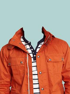 Man Jacket Suit Photo Maker - náhled