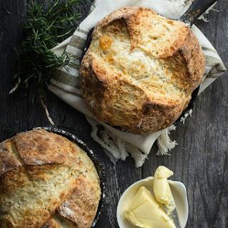 Rosemary Cheddar Irish Soda Bread.
