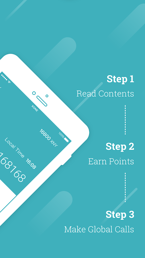 XONE-Read Content,Earn Points,Make Global Calls- screenshot