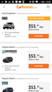 CarRentals screenshot 3