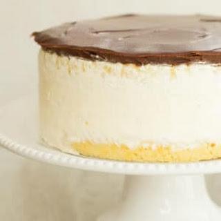 Double Vanilla Ice Cream Cake Recipe
