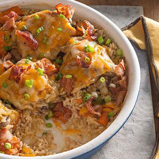 Brown Rice & Chicken Bake