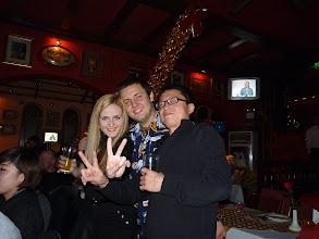 Photo: Beijing - TB dinner in russian restaurant Elephant, UA O, PL L and CN team leader Ivan