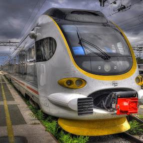 by Zeljko Kliska - Transportation Trains ( technology, hdr, train, travel, transportation,  )