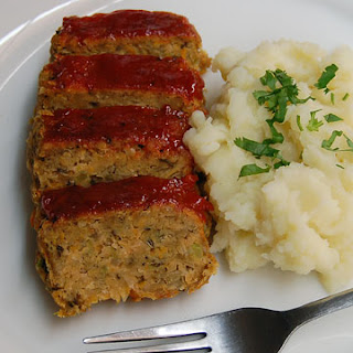 Home-style Vegan Meatloaf.
