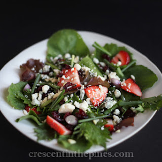 Spring Salad with Honey