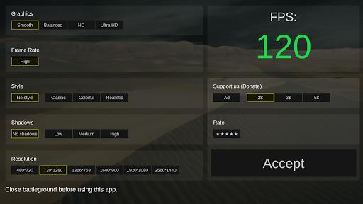 Battleground optimizer gfx 0.6 screenshots 2