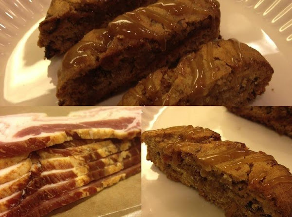 Bacon Biscotti With Maple Caramel Recipe