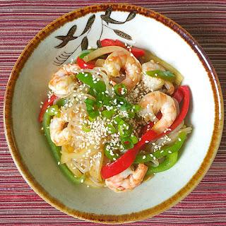 Curry Shirataki Noodle Stir Fry