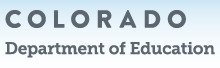 Information on assessments from Colorado Department of Education