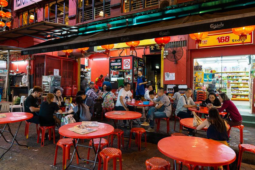 Restaurant at Petaling Street.
