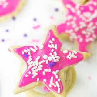 Cut Out Sugar Cookies (Gluten Free, Vegan).