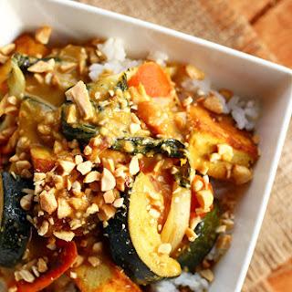 Kare Kare Toasted Peanut Tofu & Vegetables