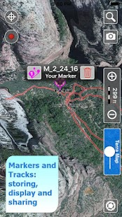 Trails of Zion National Park- screenshot thumbnail