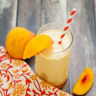 Fresh Picked Sweet Peach Smoothie.