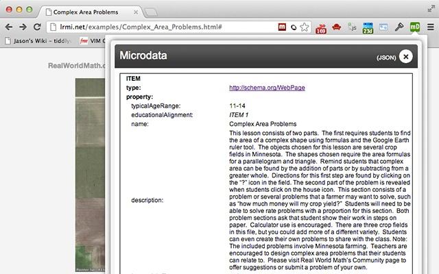 Microdata.reveal