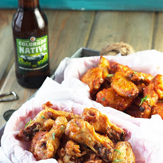 Baked Garlic Sriracha Wings