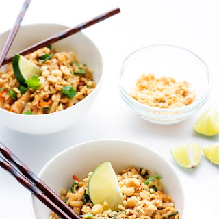 Easy Chicken Pad Thai.