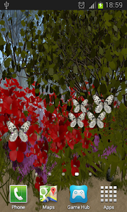 Butterflies Live Wallpaper- screenshot thumbnail