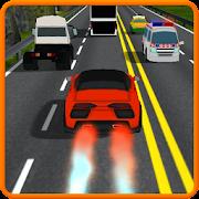 Car race highway