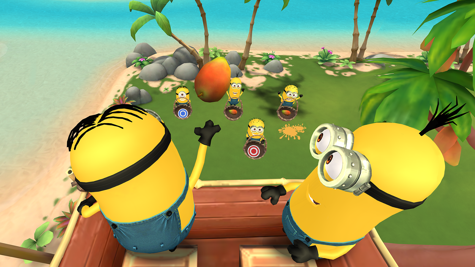 Screenshots of Minions Paradise™ for iPhone