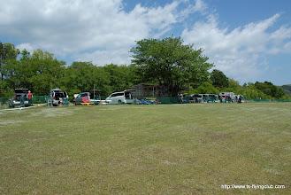 Photo: 今日も朝から草刈をしていただいたので飛行場のコンディションはばっちりです。