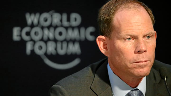 South African-born Mark Suzman, CEO of the Bill and Melinda Gates Foundation