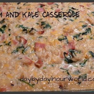 Rich and Creamy Ham and Kale Casserole Recipe