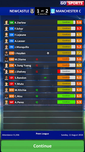 Club Soccer Director 2019 - Soccer Club Management 2.0.25 screenshots 7