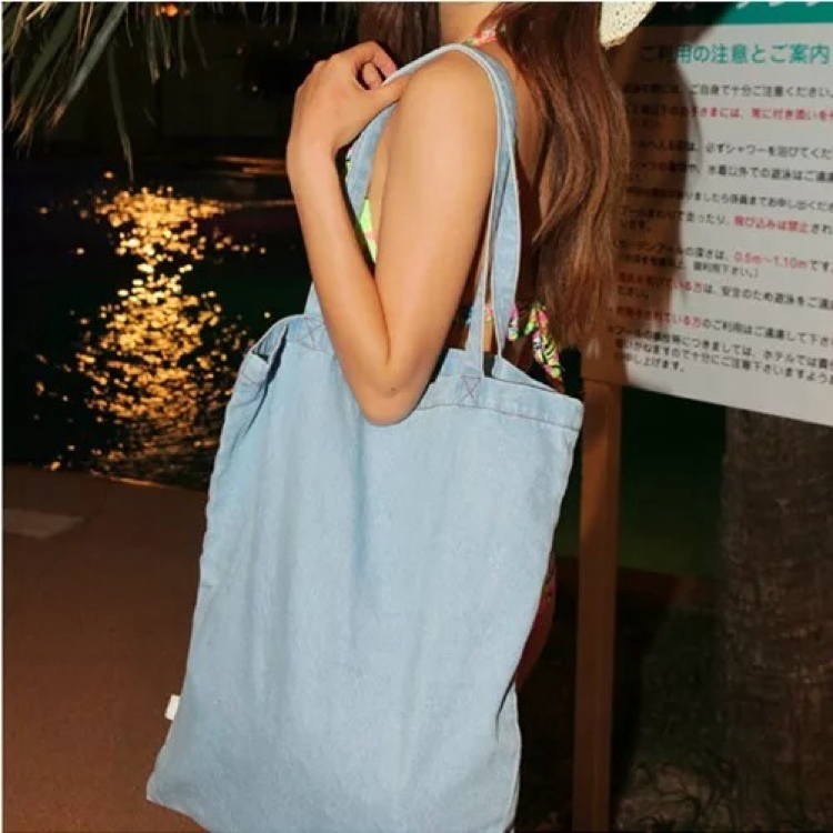 Denim Tote Bag by Vogue Malaysia Official