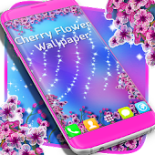 Cherry Flowers Wallpaper