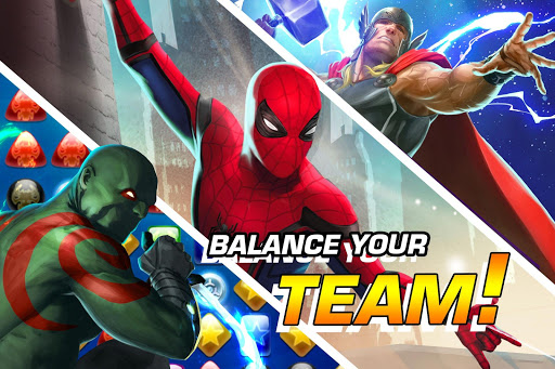 MARVEL Puzzle Quest: Join the Super Hero Battle! 204.531444 screenshots 2