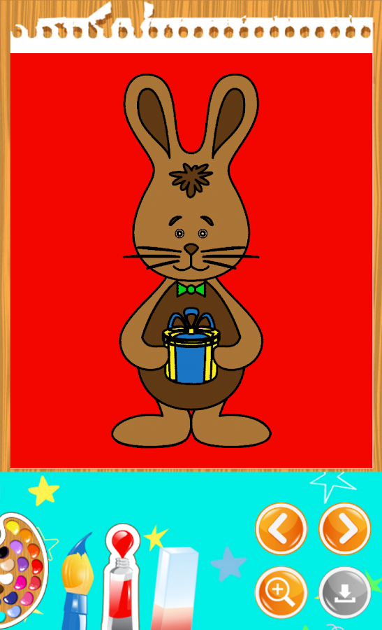 Easter Coloring Book- screenshot