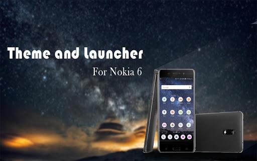 Launcher Theme for Nokia 6  screenshots 2