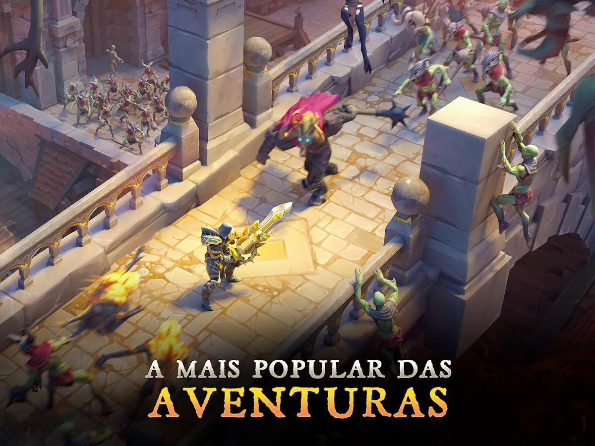 Dungeon Hunter 5 - Ação RPG: captura de tela