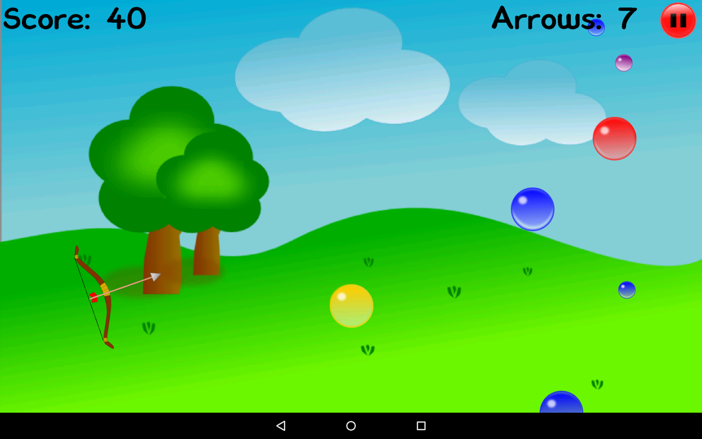 Bubble Archery- screenshot