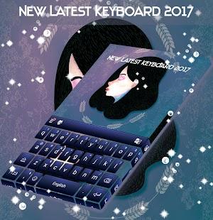 New Latest Keyboard 2017 - náhled