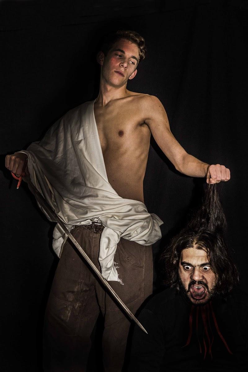 Davide con la testa di Golia di sandra tamasi
