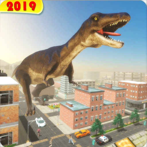 Dinosaur Games Simulator 2019 Icon