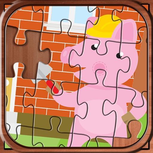 Pepa Jigsaw Puzzle pink pig