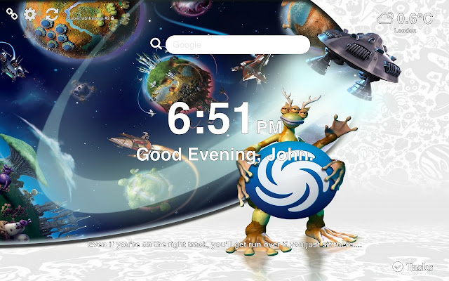 Spore Wallpapers HD New Tab Themes