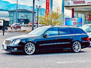 Eクラス ステーションワゴン W211 E350 4matic/2007年式のカスタム事例画像 ヂョニ男さんの2020年05月28日21:33の投稿