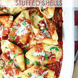Three Cheese Stuffed Shells.
