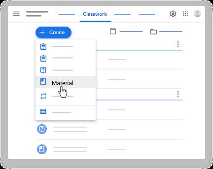 Fai clic su Materiale