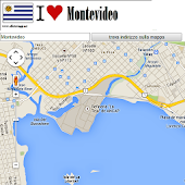 Montevideo map