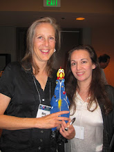 """Photo: With """"Packing For Mars"""" author Mary Roach!  #NASAHero!"""