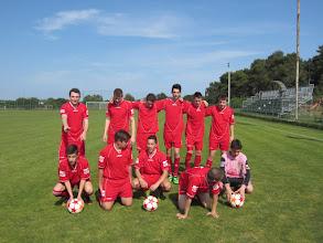 Photo: Juniori pred posljednju utakmicu (Štinjan - Cement 3:0)