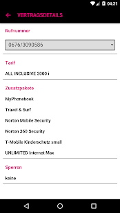 Mein T-Mobile- screenshot thumbnail